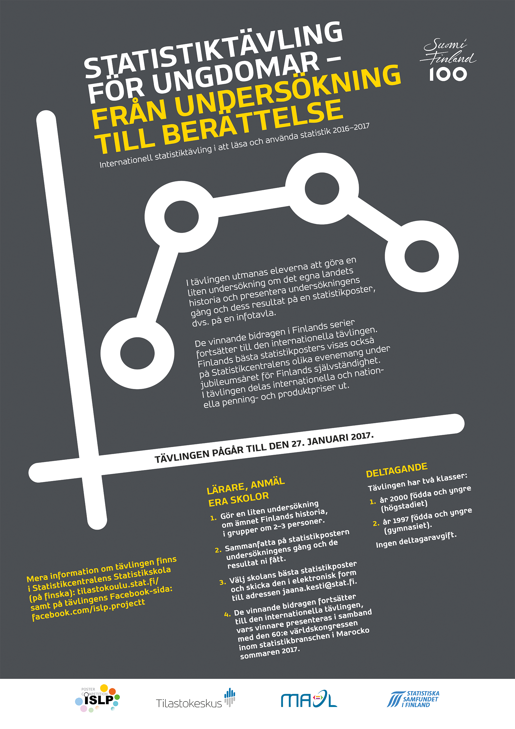 Poster design contest 2017 - Timetable Competition Advert Finnish English Portuguese Swedish